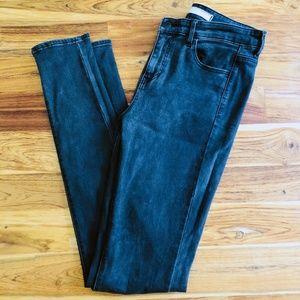 Uniqlo Gray Skinny Jeans 25x33